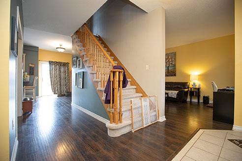 Joseph - Stairway - Before Renovation