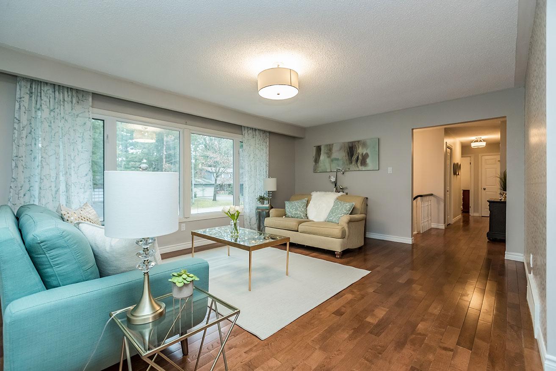 Cedar Creek- Living Room - After Renovation