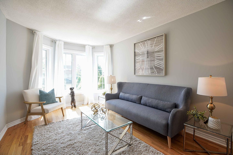 Nicholson Drive - Living Room - After Renovation
