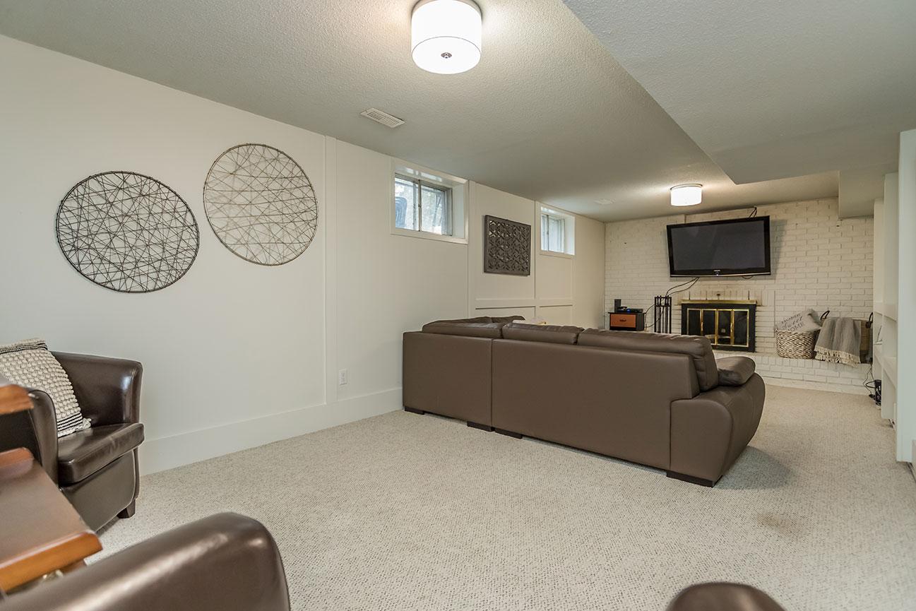 Cedar Creek- Family Room - After Renovation
