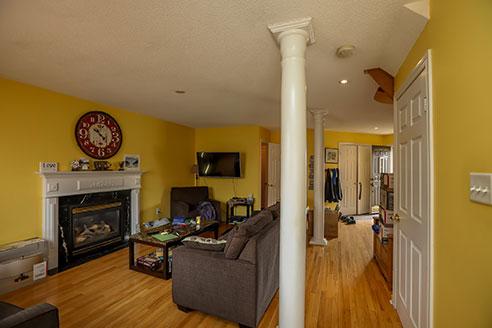 121 Nicholson Drive - Living Room - Before Renovation