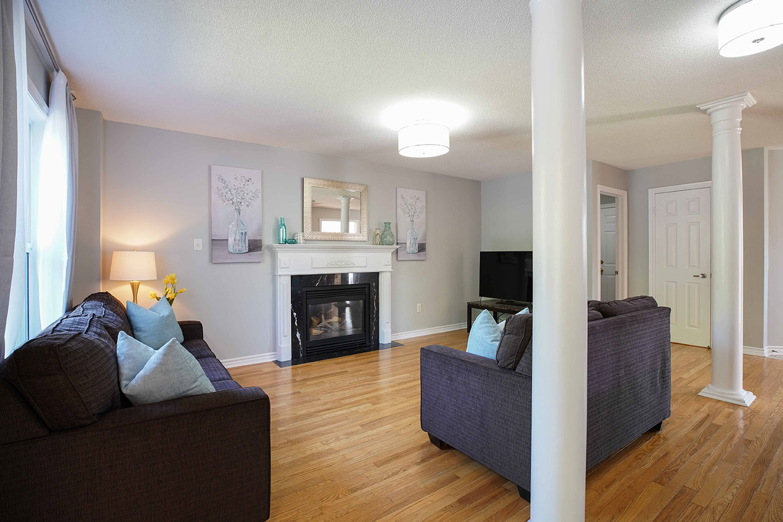 121 Nicholson Drive - Living Room - After Renovation
