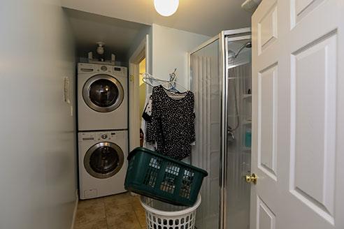 121 Nicholson - Laundry area- Before Renovation
