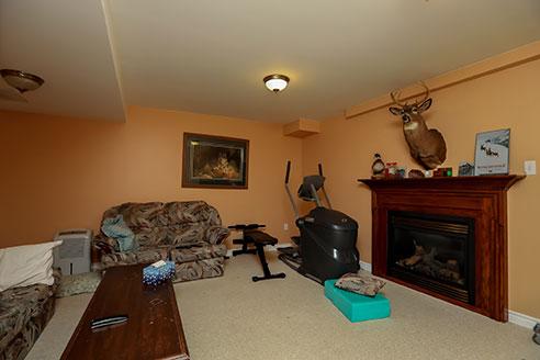121 Nicholson - Family Room Before Renovation