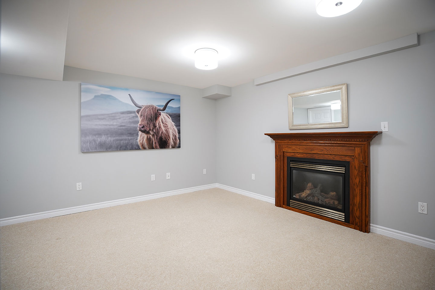 121 Nicholson - Family Room After Renovation